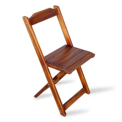 Cadeira Dobrável Madeira Padrão Imbuia - Tarimatã