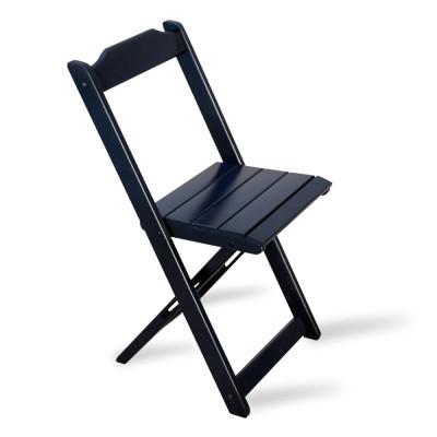 Cadeira Dobrável Madeira Preta - Tarimatã
