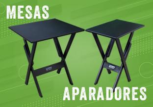 Mesas e Aparadores